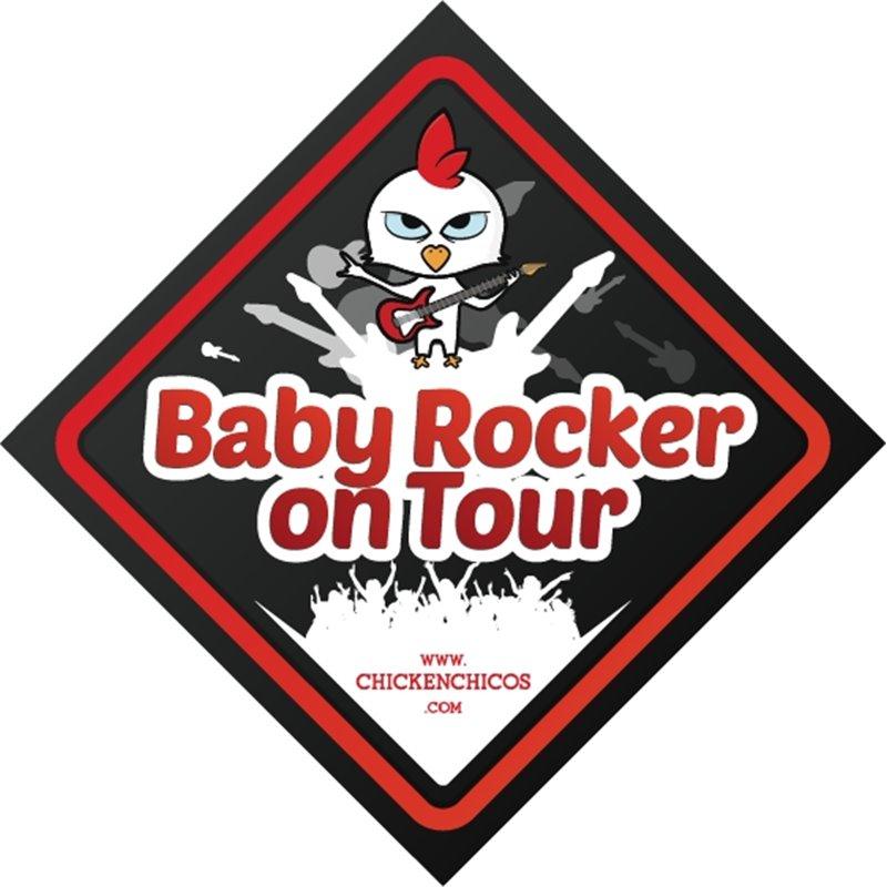 Car Sticker Rocker on Tour Boy