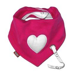 Babete Impermeável Porta Chuchas Coração
