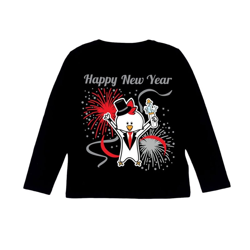 Longsleeve New Year Chicken Chicos