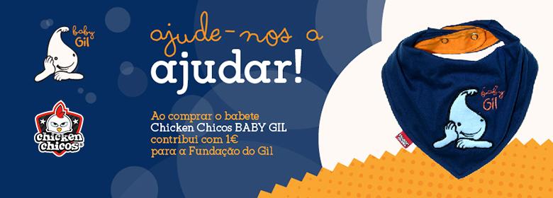 Campanha Solidaria Baby Gil